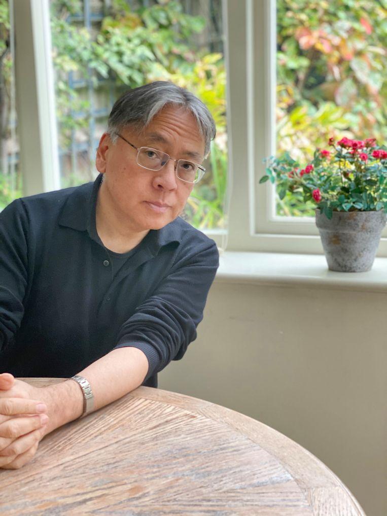 Kazuo Ishiguro: 'Mijn dochter zegt dat ik het belang van klimaatverandering niet begrijp. Ik denk dat ze gelijk heeft.'  Beeld Lorna Ishiguro