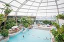 Het subtropische zwembad Aquafun bij SunParks in Oostduinkerke, waar Faith werkt.