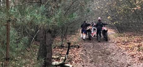 Wildcrossers op de bon geslingerd in natuurgebied De Pan, agent verwond bij handhaving