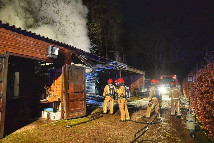 Schuurbrand in Eersel.