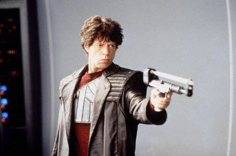 Mick Jagger in Freejack (1992). Beeld