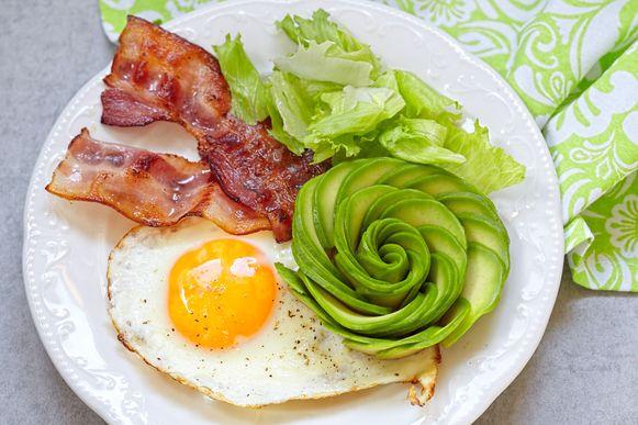 Veel vet, weinig koolhydraten, dat zijn kenmerken van het ketogeendieet.