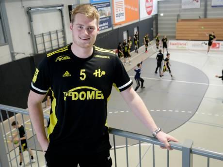 Handballer Wouter Pronk verruilt Houten voor België, maar: 'Spelen in de Bundesliga is mijn grote doel'
