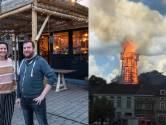 """Horecakoppel Marie (33) en Jorgen (40) zwaar getroffen door inferno van de schutterstoren, de meest mysterieuze brand van dit jaar: """"Na drie verplichte sluitingen kan 2021 alleen maar beter worden"""""""