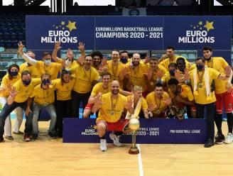 Oostende is na een 62-69 zege in Bergen voor de 22e keer Belgisch kampioen, de tiende titel op rij