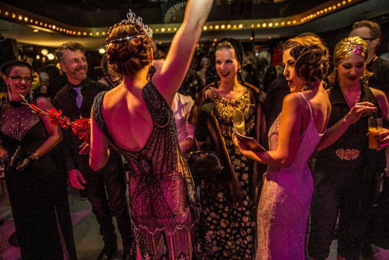 De 2016 editie van The International Amsterdam Burlesque Award in nachtclub Panama Beeld Amaury Miller