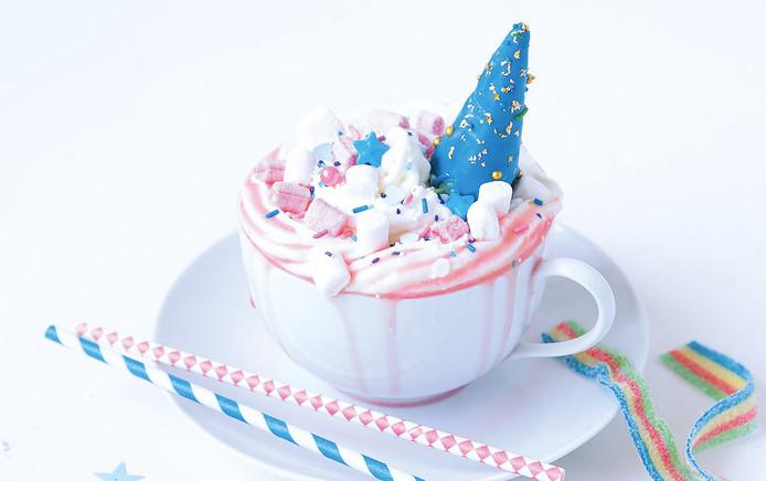 Unicorn wittechocolademelk