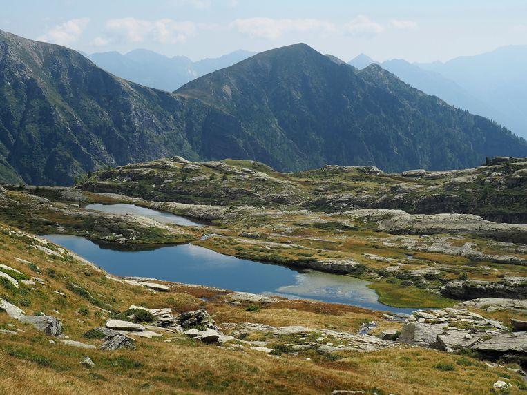 De Alpen. Beeld getty images