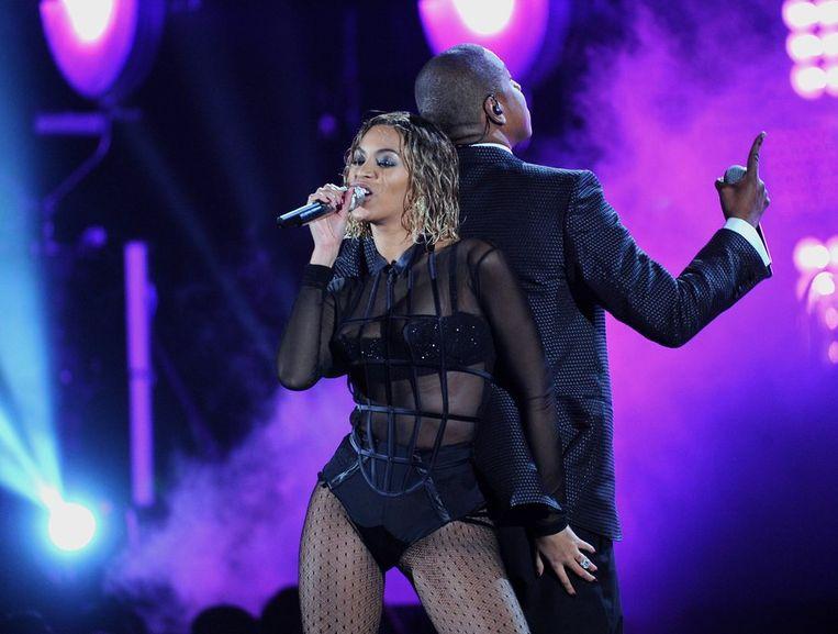 Beyoncé en Jay-Z. Beeld PhotoNews
