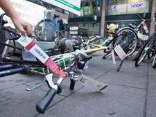 Waardering voor aanpak wildparkerende fietsers