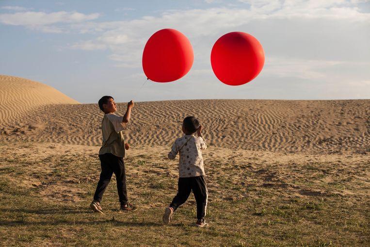 Scène uit Balloon.   Beeld