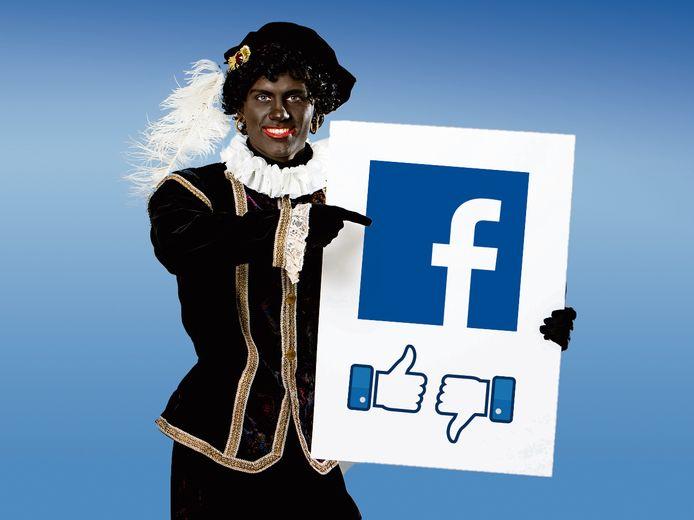 Geen afbeeldingen meer van een traditionele Zwarte Piet op Facebook.