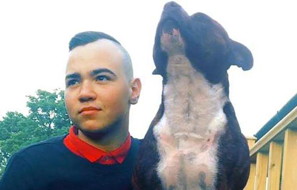 Stuart en zijn hond Nero waren onafscheidelijk.