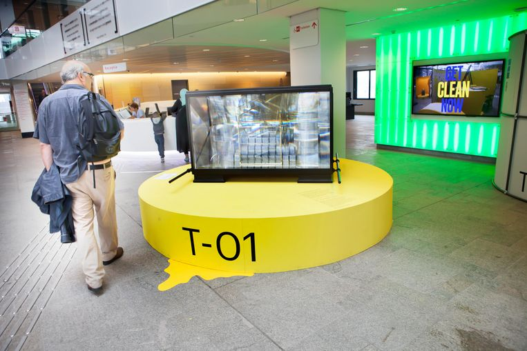 De Groene Ark in het Stadskantoor van Utrecht.  Beeld Maarten Hartman