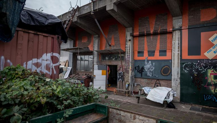 De oude scheepshelling is toe aan renovatie. Beeld Rink Hof