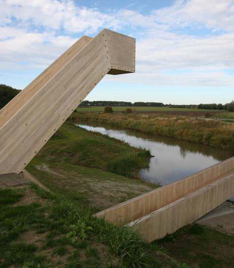 Fort Henricus in Steenbergen voorlopig gesloten door verzakking