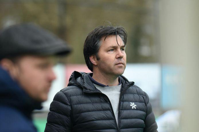 Gilles van Hesteren, de nieuwe coach van de hockeyers van SCHC