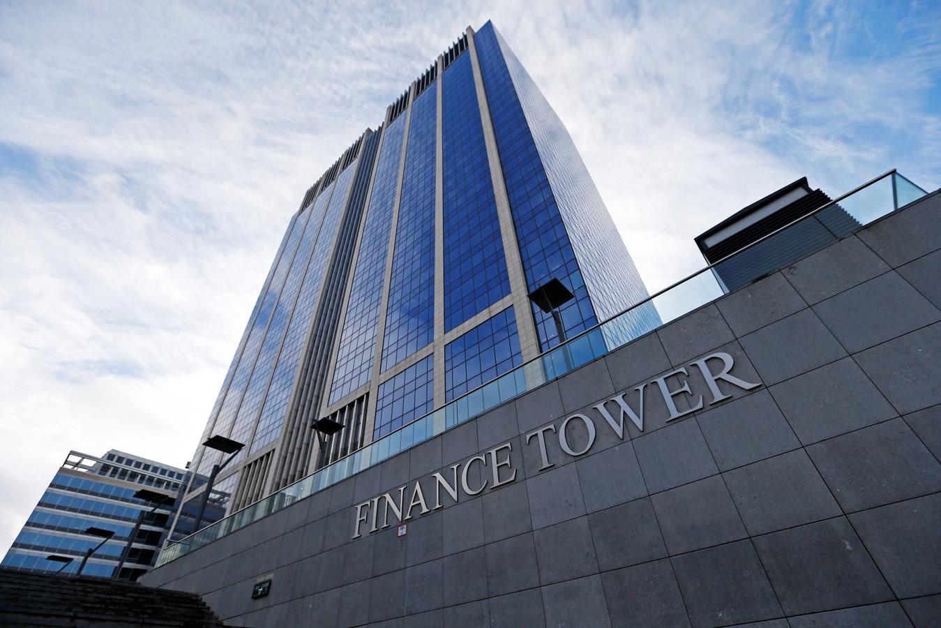 De Finance Tower in Brussel.