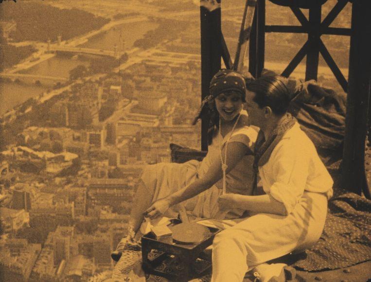 Een scène uit 'Paris qui dort' Beeld rv