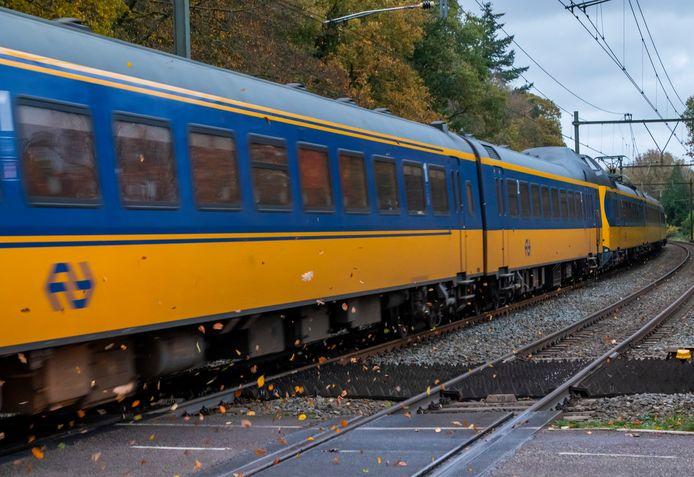 Intercity raast langs in Ermelo.