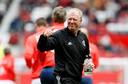 Steve McLaren is assistent van Alex Ferguson bij de ManUnited-legends.