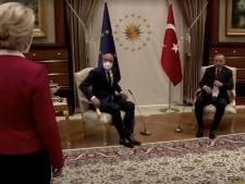 Parijs beschuldigt Turkije van opzet in 'sofagate', Europese vrouwenorganisaties vragen ontslag Michel