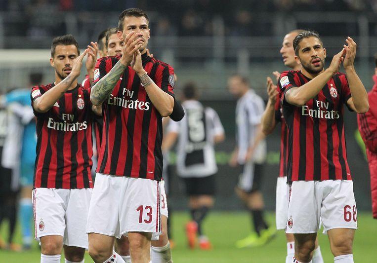 AC Milan: ooit een voetbalgrootheid, nu slabakkend in Chinese handen Beeld Getty Images