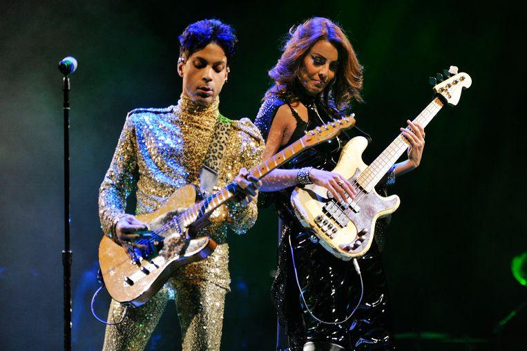 Prince en Ida Nielsen. Beeld RV/NPGRecords