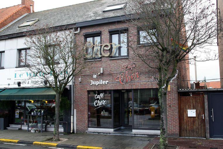 Café Cher in de Sint-Pieterstraat.
