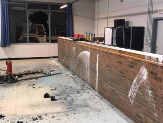 Oefencomplex KSC Dikkelvenne slachtoffer van zwaar vandalisme