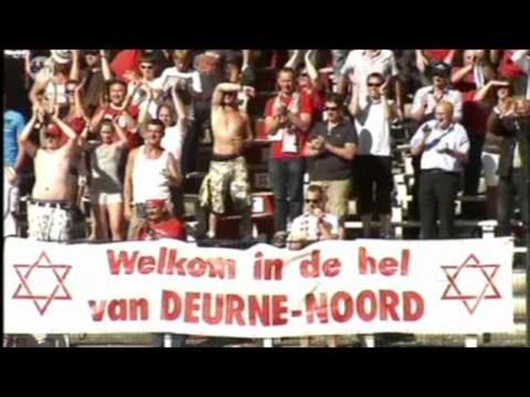 Antwerpsupporters noemen zichzelf 'joden'.