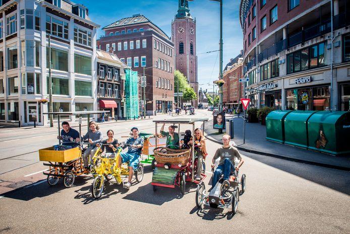 Skelters op zonne-energie van Den Haag naar Nijmegen fietsen