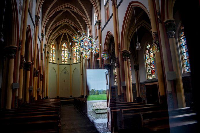 De oude Sint-Victorkerk in Batenburg is inmiddels al dicht.