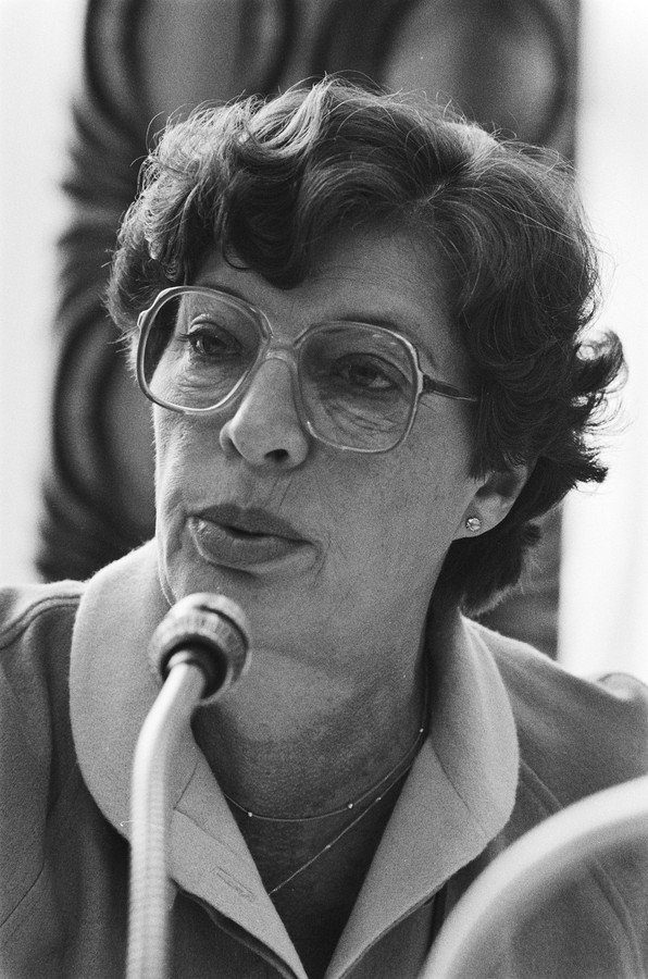 Ina Muller-Van Ast in 1981.