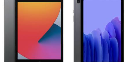 Dit zijn de verschillen tussen de iPad en de Galaxy Tab A7