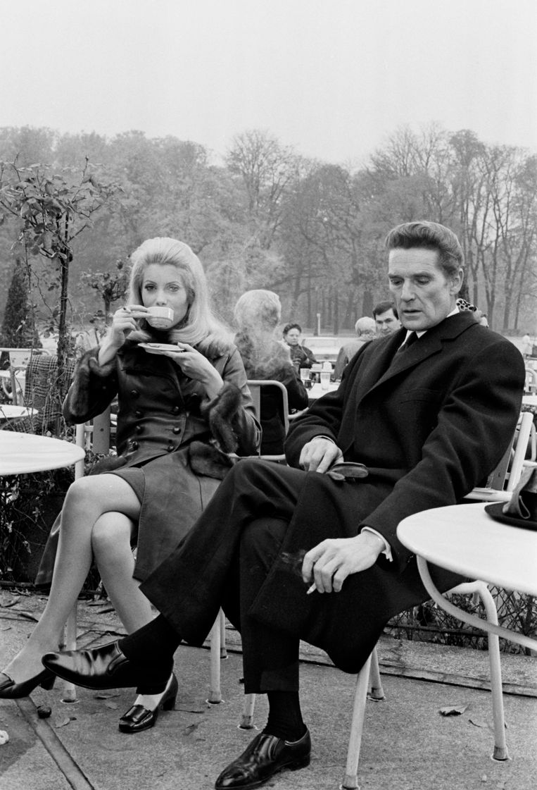 Catherine Deneuve en Georges Marchal in Belle de Jour. Beeld Gamma-Rapho via Getty Images