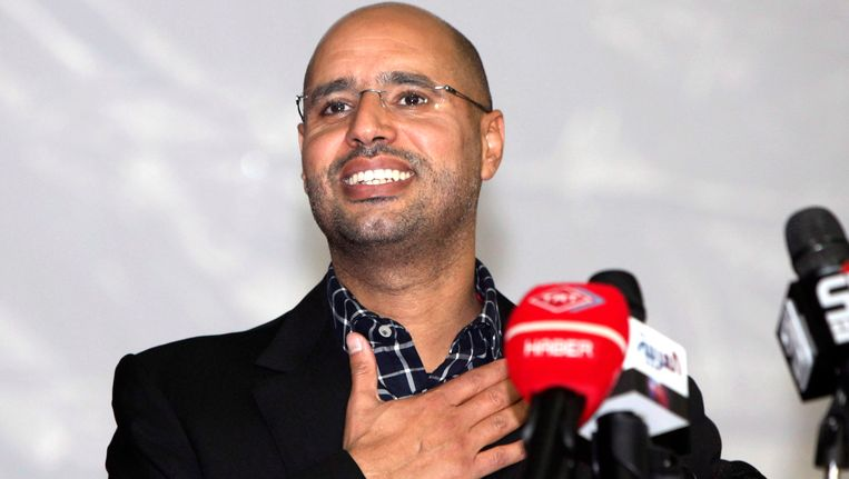Saif al-Islam Kaddafi. Beeld EPA