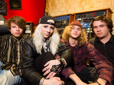 Rockband Venhill ontstijgt de regio