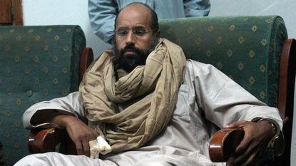Zoon Kadhafi wil procureur Strafhof wraken