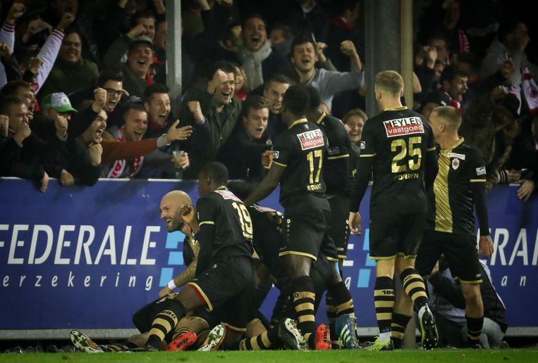 Antwerp speelde afgelopen weekend 2-2 gelijk tegen Moeskroen.