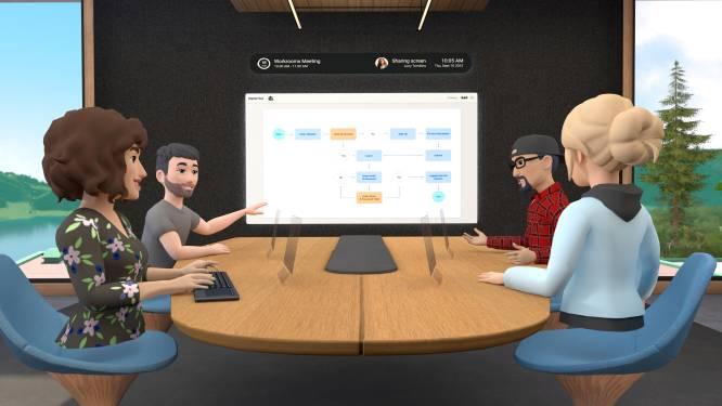 Facebook lance des salles de réunion en réalité virtuelle