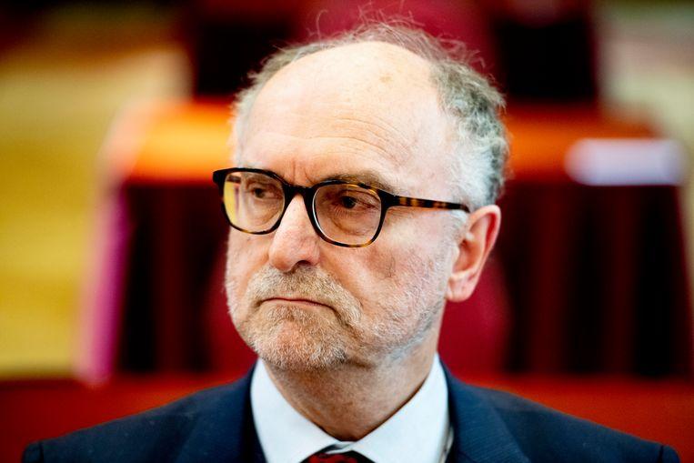 Voormalig FvD-senator Paul Cliteur. Beeld Hollandse Hoogte / Robin Utrecht