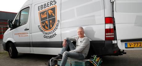 Bouwvakker Hans uit Giesbeek hoeft na 48 jaar niet meer vroeg op te staan: 'Maar ze mogen altijd bellen'