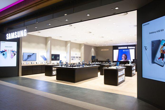 Le premier Samsung Experience Store de Wallonie est implanté à Charleroi