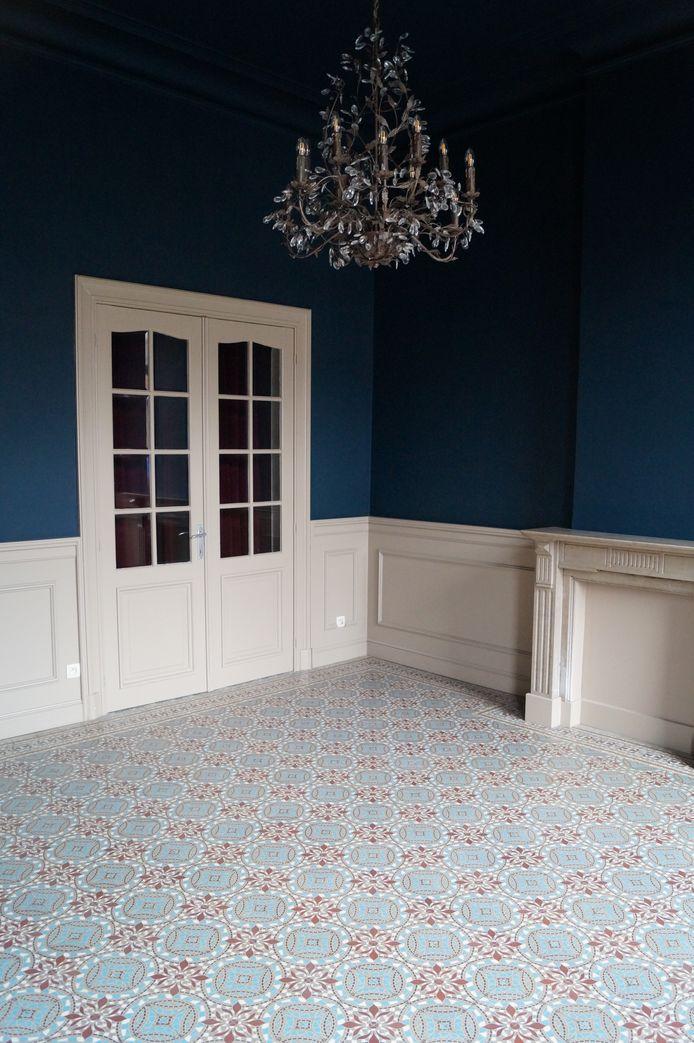 Een van de aparte kamers naast de grote zaal