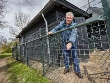 Inbraak dierenweide Warnsveld: twee hamers gestolen, maar door gat in het hek ontsnapten de geiten