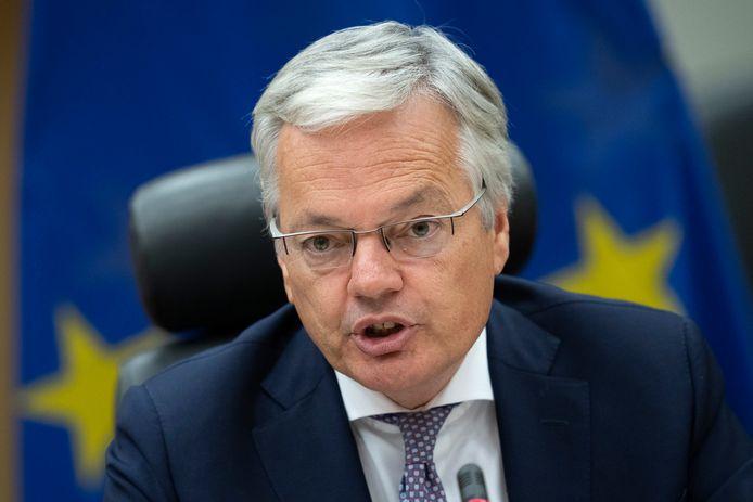 Didier Reynders (MR) krijgt in de nieuwe Europese Commissie de verantwoordelijkheid over Justitie.