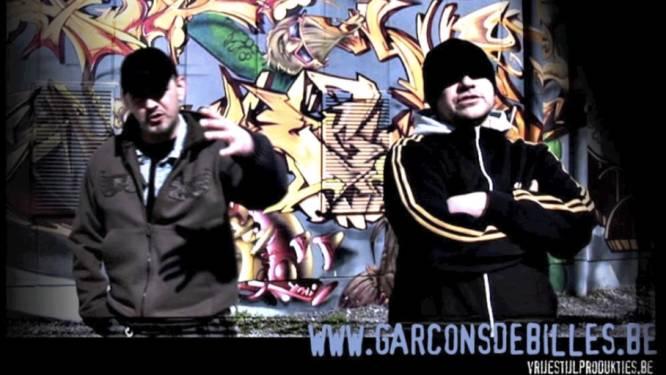 Stem pioniers van Aalsterse rap 'Garcons Debilles' naar de top van de 'TOP053'