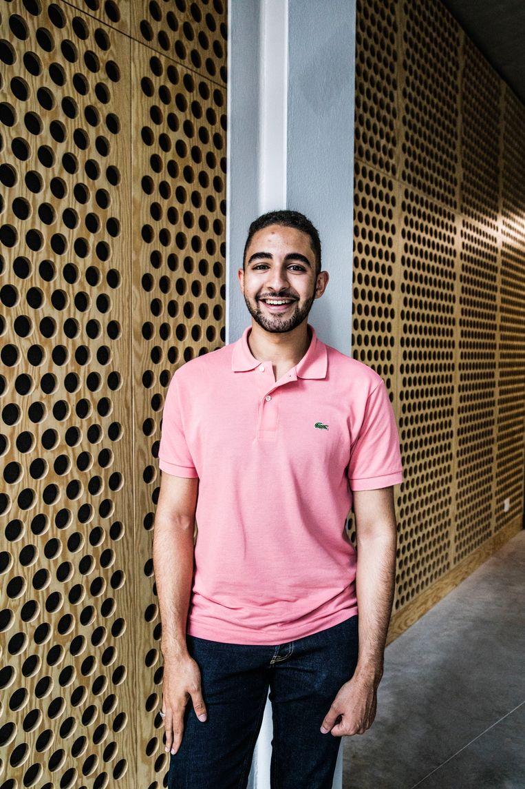 Said Mabrouk: 'Ik wil niet pleiten voor quota, maar het moet voor jongeren met een migratieachtergrond wel duidelijker zijn dat hier voor hen ook kansen liggen.' Beeld Aurélie Geurts