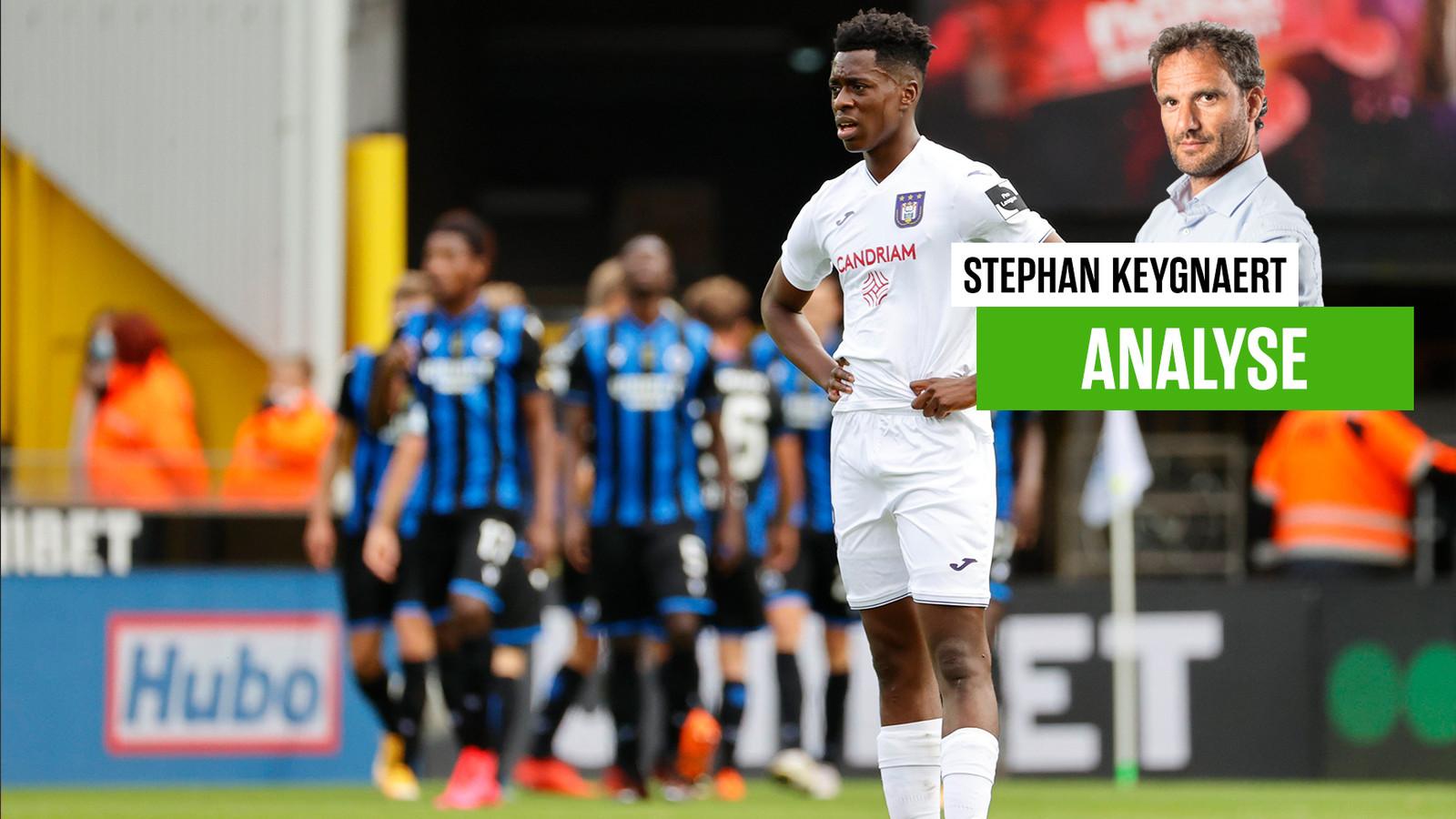Albert Sambi Lokonga en Anderlecht blijven ontgoocheld achter op Jan Breydel: 3-0.